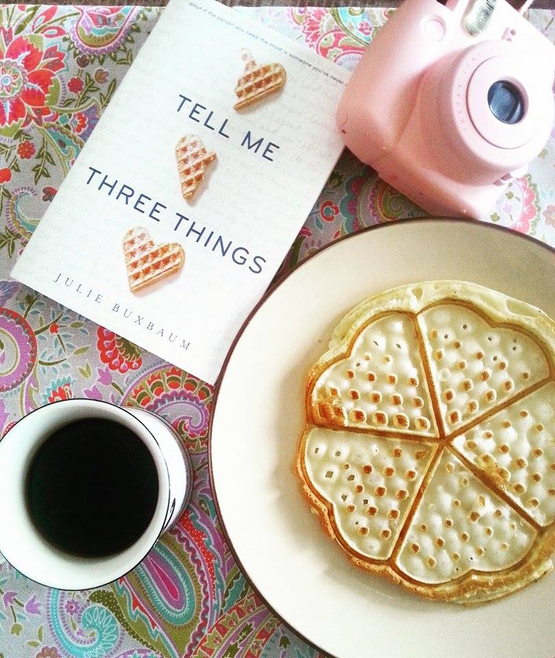 waffles and books